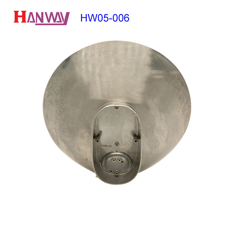 anodized aluminum light housing body supplier for outdoor