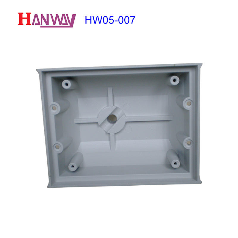 Anodized finish OEM flood light housing die cast aluminum HW05-007