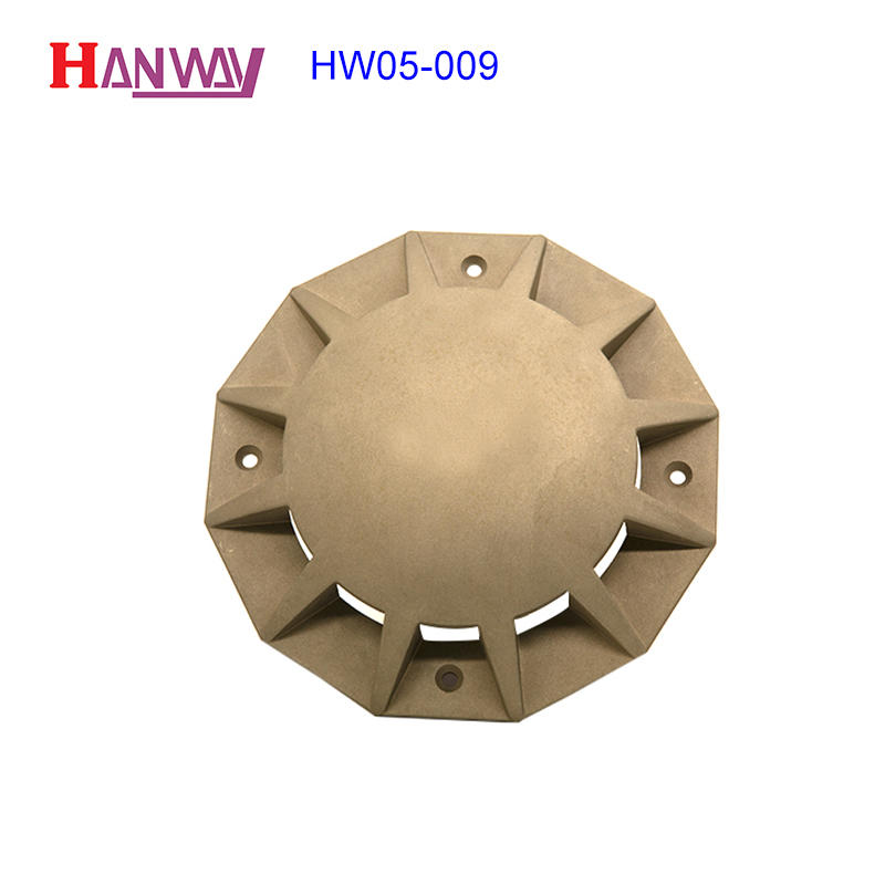 Fitting lamp body aluminum CNC machining die cast light  HW05-009