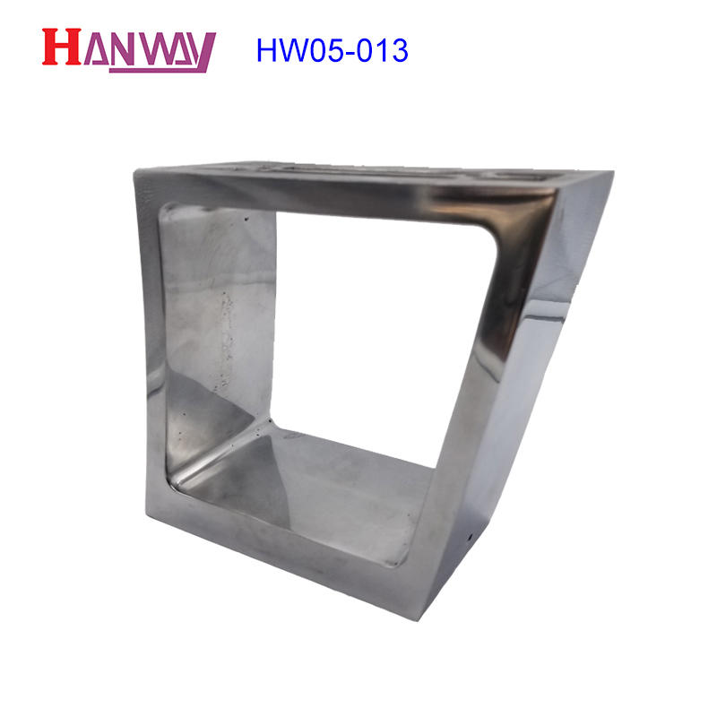 Hanway die die-casting aluminium of lighting parts customized for lamp