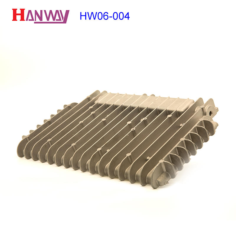 Extruded aluminum profile radiator metal 500w led heat sink HW06-004