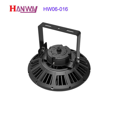 Customized electronics lighting finished aluminum heat sink for led HW06-016