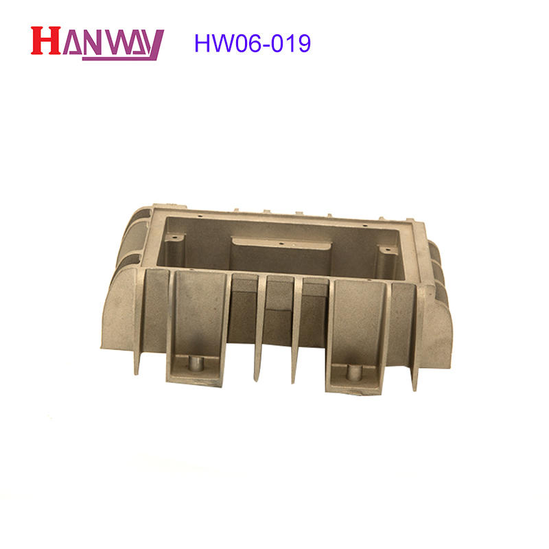 industrial led headlight heat sink extruded part for plant