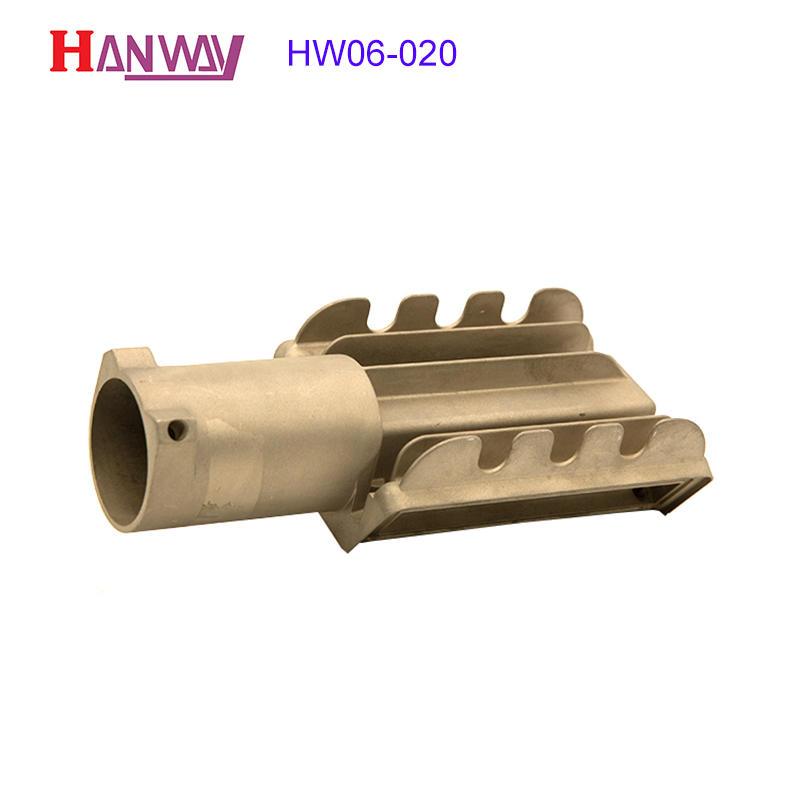 Aluminum extrusion housing heatsink led heat sink design HW05-020