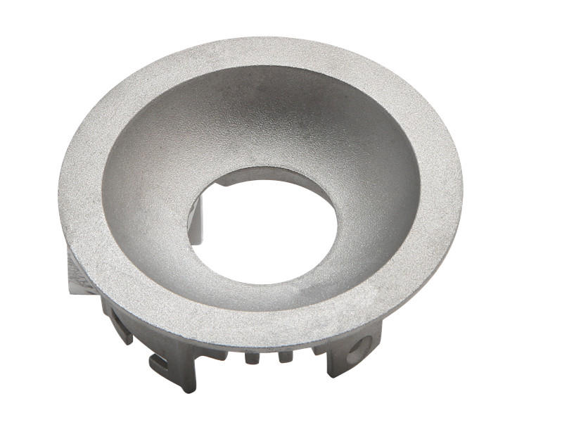 led housing cast-aluminium post base customized for light
