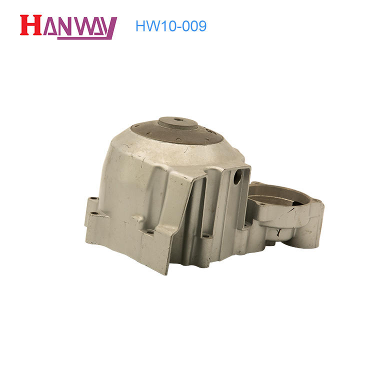 Motorcycle engine part aluminum foundry HW10-009