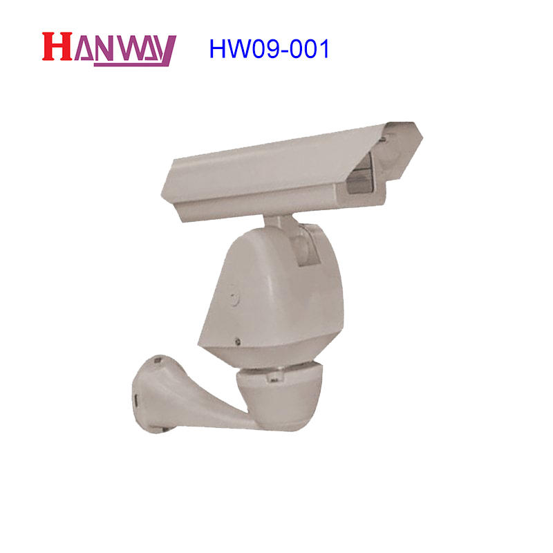 Camera housing aluminum die cast  HW09-001