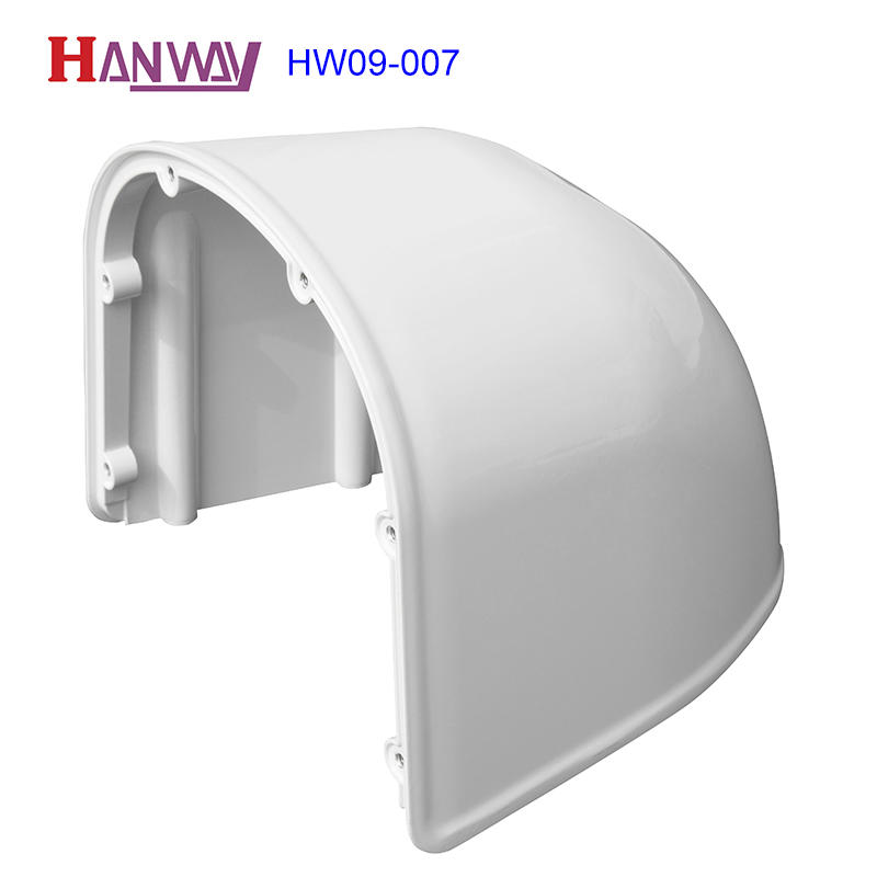 OEM service cctv camera housing aluminum die casting cctv housing with CNC NCT  HW09-007