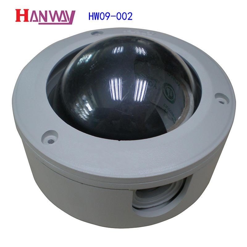 Security camera parts for cctv camera mount kit aluminum die casting HW09-002