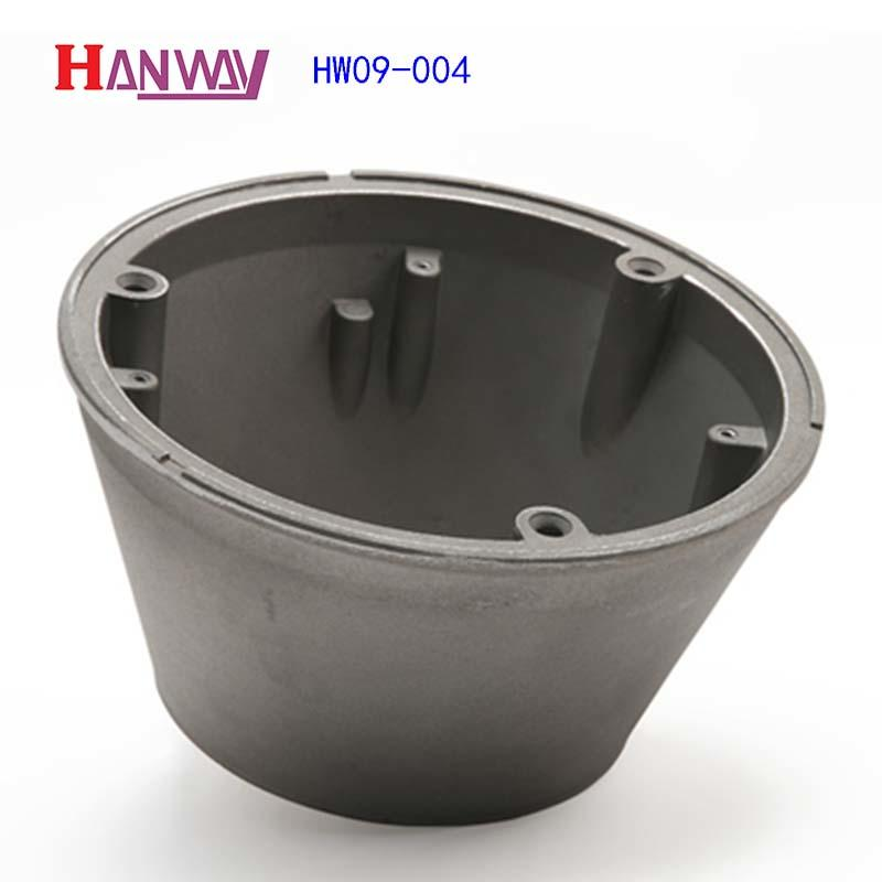 Guangdong OEM manufacture aluminum cctv camera outdoor or indoor enclosure aluminum die casting cctv camera housing