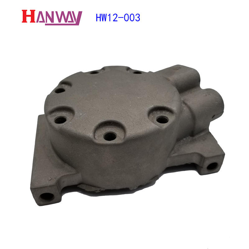 Hanway precise valve body & flange part for industry