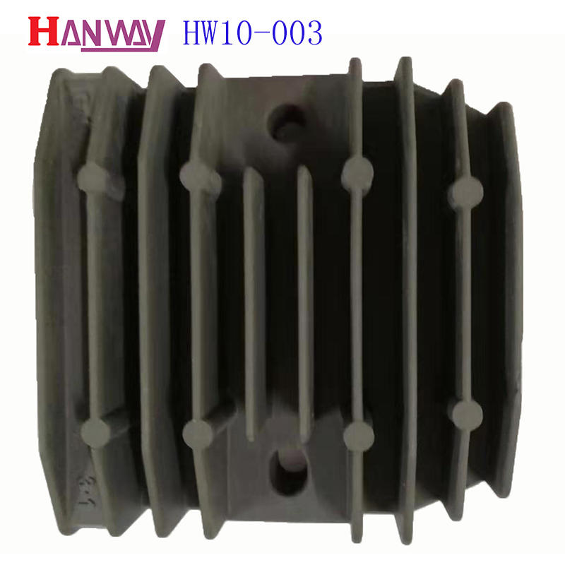 Aluminum powder coating paint motorcycle engine cover HW10-003