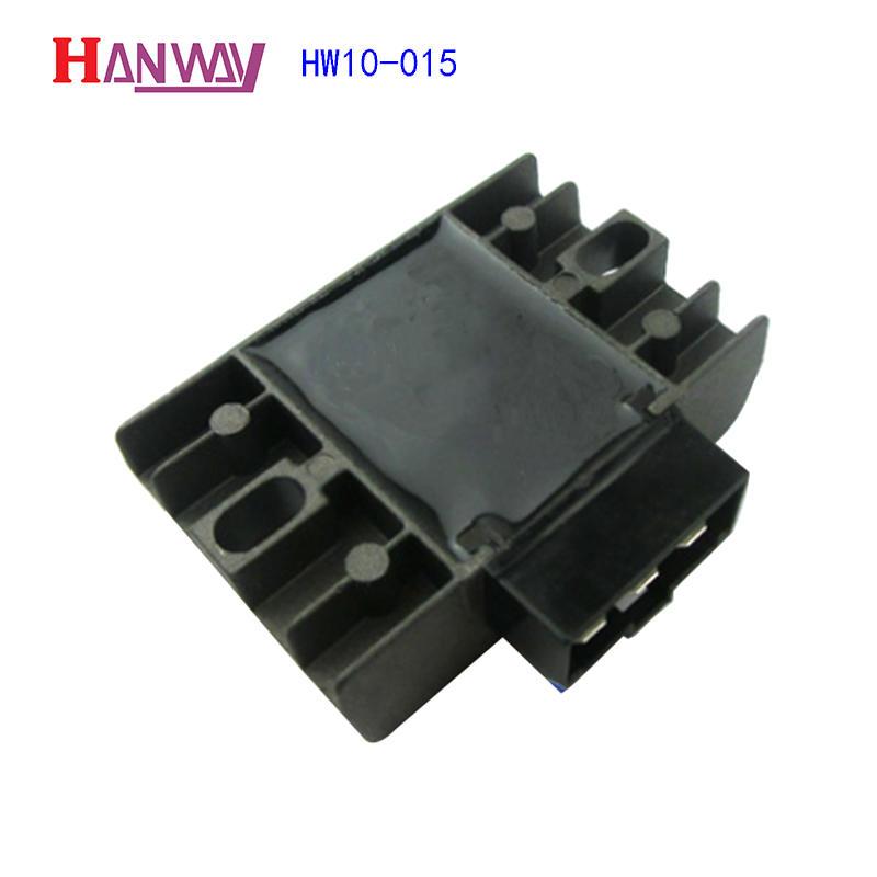 Professional aluminium die casting motorcycle parts  HW10-015