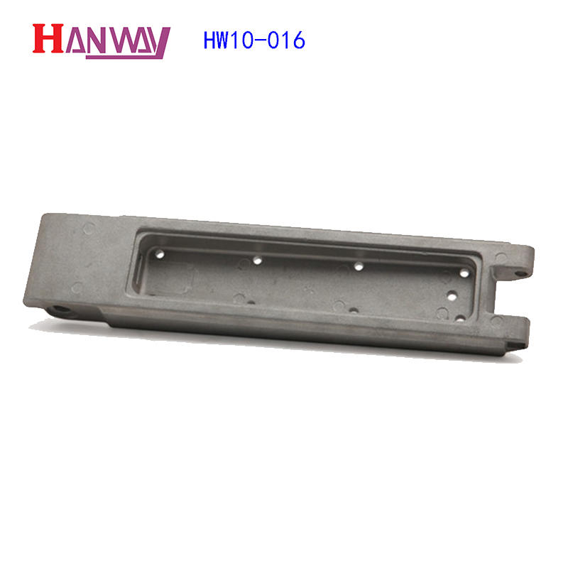China customized aluminum cast train parts HW10-016