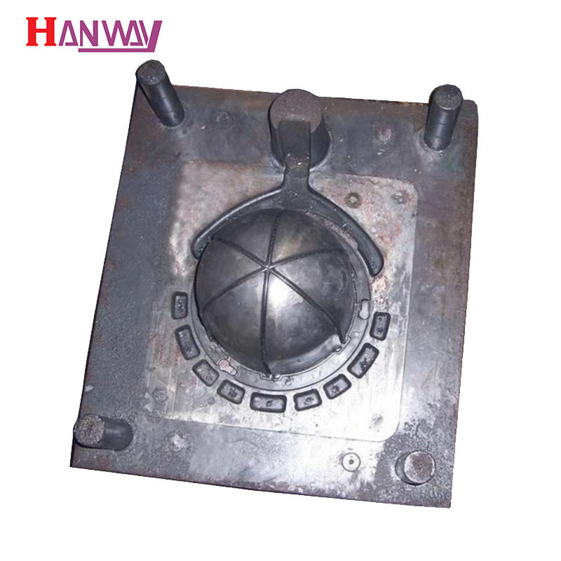 Aluminum die casting mold shaped like a bird cage from China factory