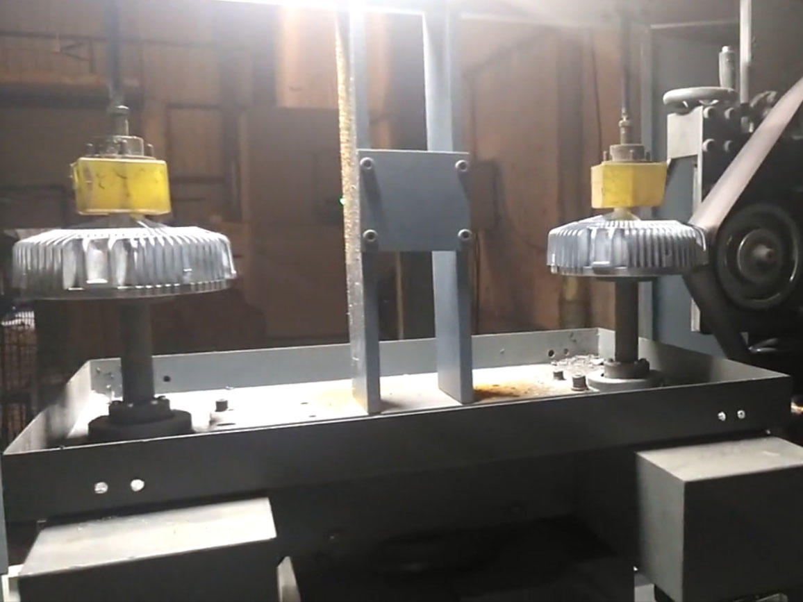 Automatic grinding