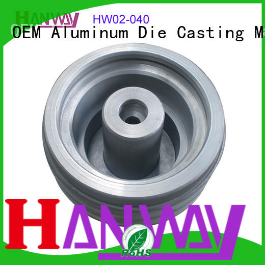 Hanway polished Industrial parts and components wholesale for industry