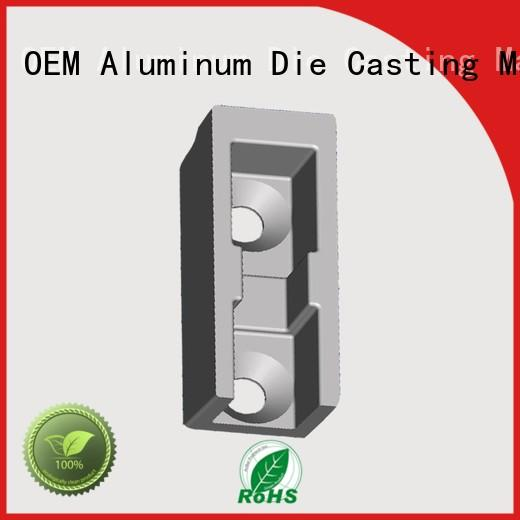 wireless aluminium die casting companies black factory price for industry