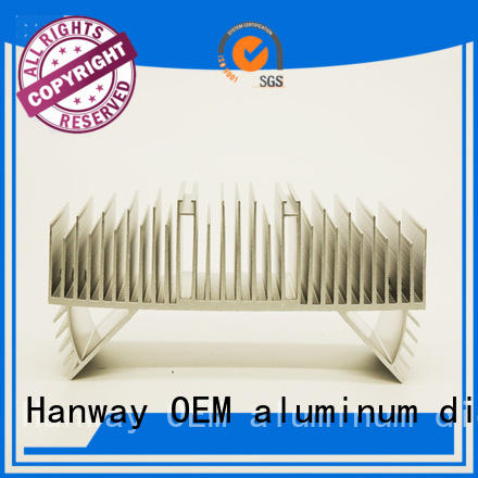 industrial foudry Hanway Brand aluminum light pole