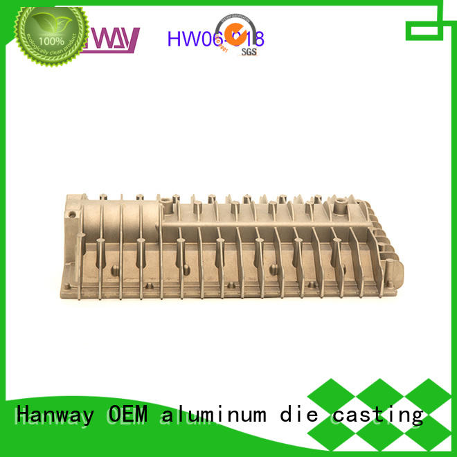 Hanway hw05020 led headlight heat sink customized for industry