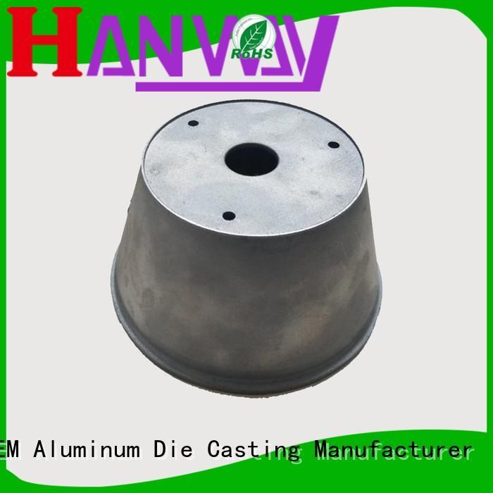 housing Custom precision casing aluminum die cast cctv camera housing Hanway casting