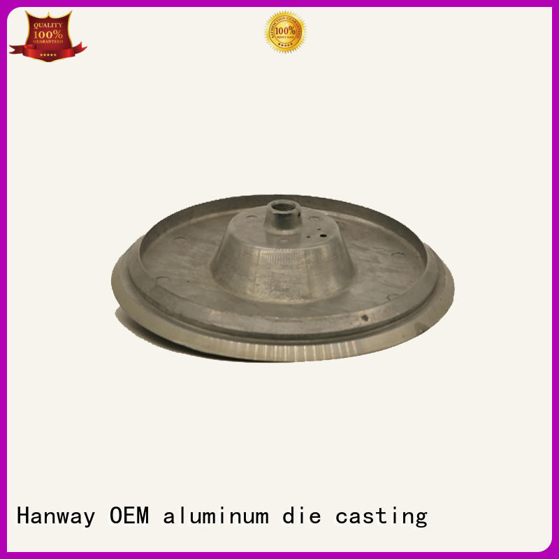 light Custom oem aluminum light pole casting Hanway