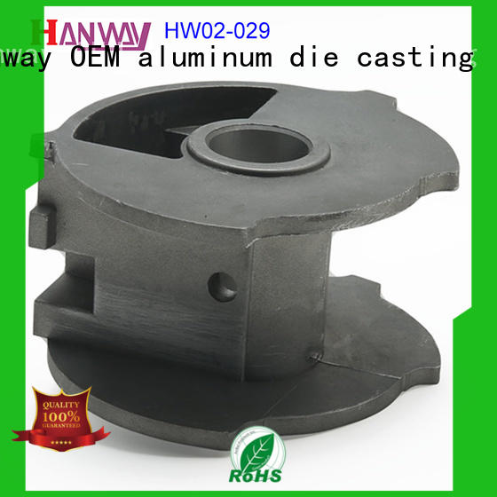 Hanway die casting zinc alloy die casting parts brass for industry