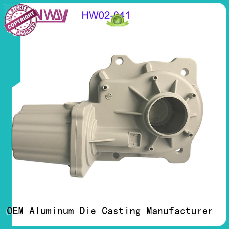 Hanway customized aluminum die casting parts directly sale for industry