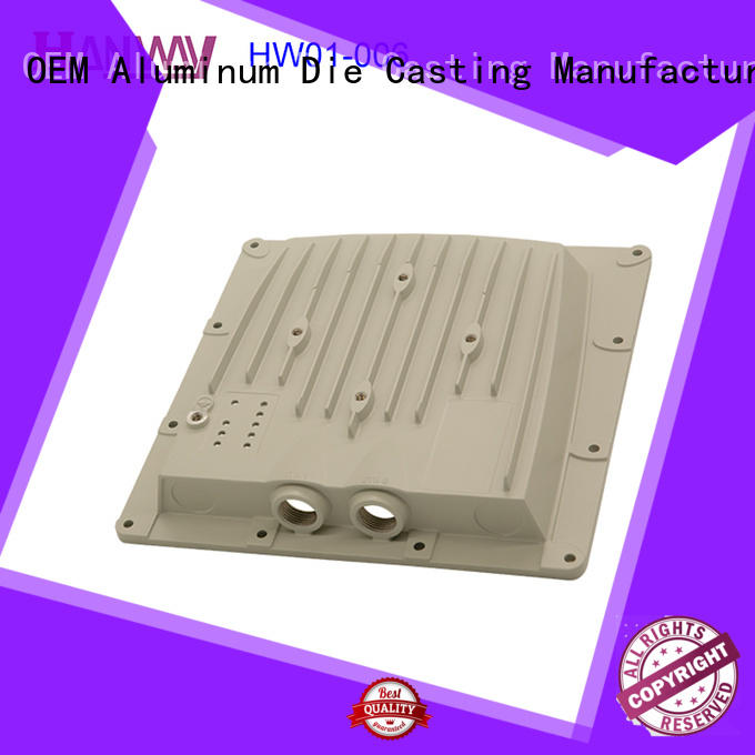 die casting wireless telecommunications parts top design for antenna system