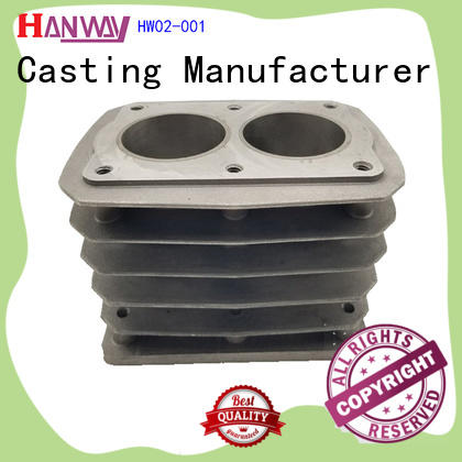 Hanway polished industrial parts supply customized for manufacturer