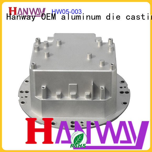 Hanway street light housing customized for outdoor