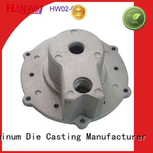 Hanway machining aluminium pressure casting from China for manufacturer