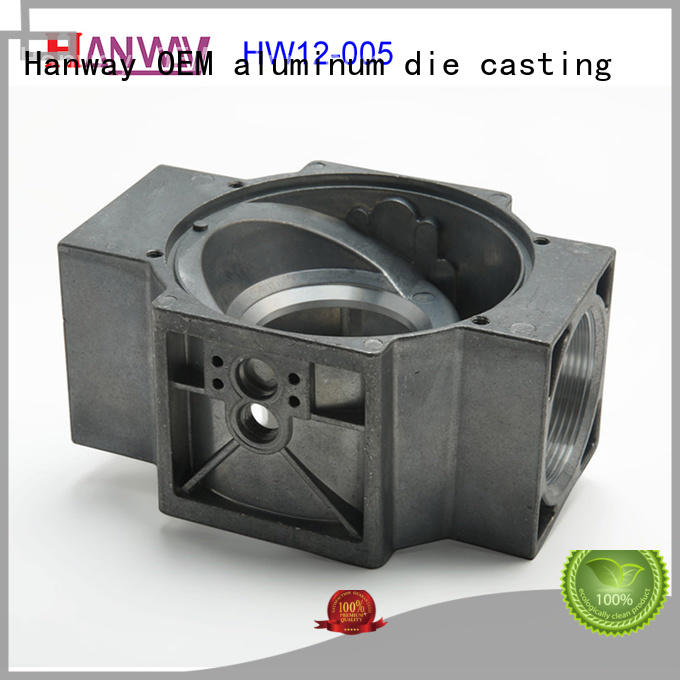 Hanway precise valve body & flange customized for plant