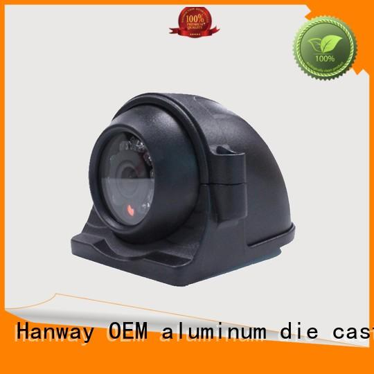 Custom bracket aluminum die cast cctv camera housing cctv Hanway