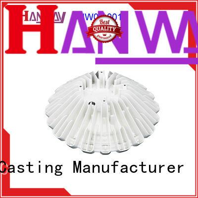 Hanway design led heat sink design part for workshop