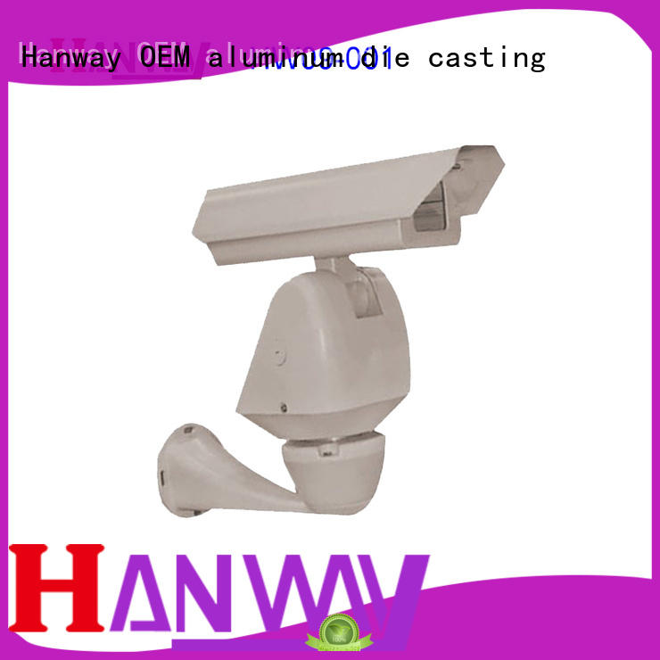 Hanway anodized cctv accessories supplier for lamp