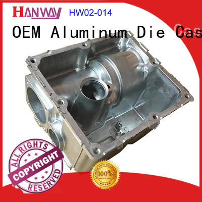 Hanway die casting Industrial components from China for industry