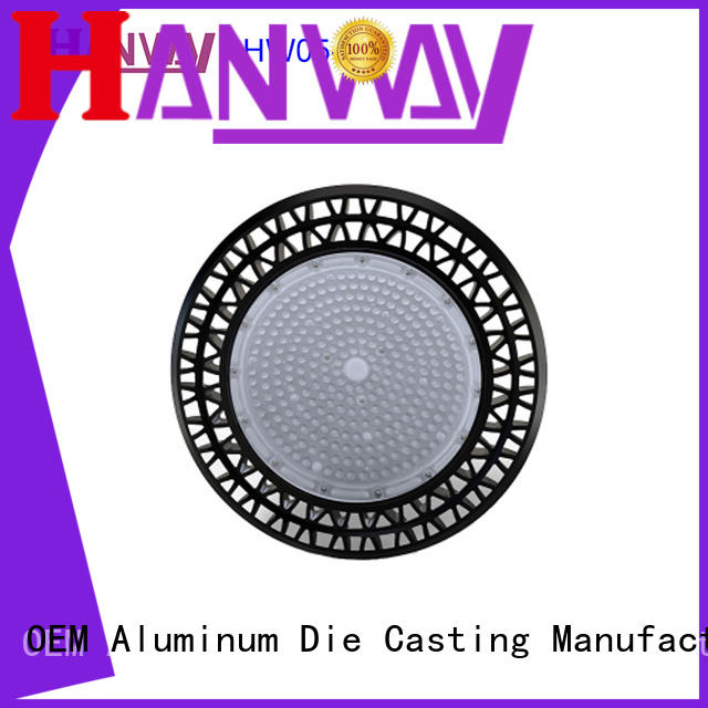 material die-casting aluminium of lighting parts part for outdoor Hanway