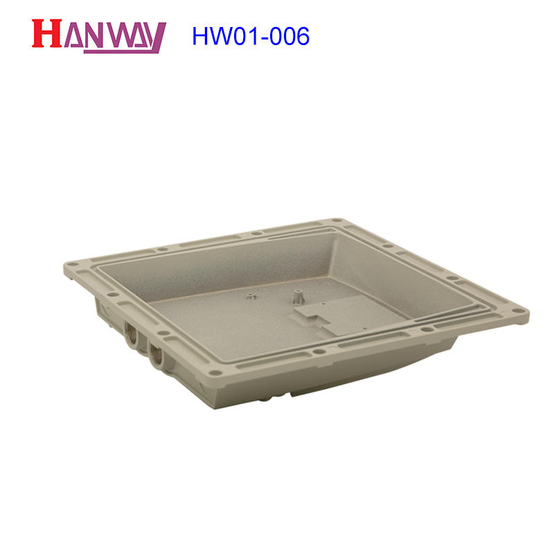 Hanway hw01009 aluminium casting manufacturers inquire now for antenna system-2