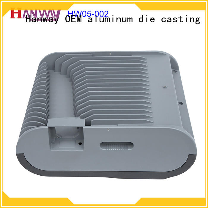 die casting aluminum light housing cnc part for mining