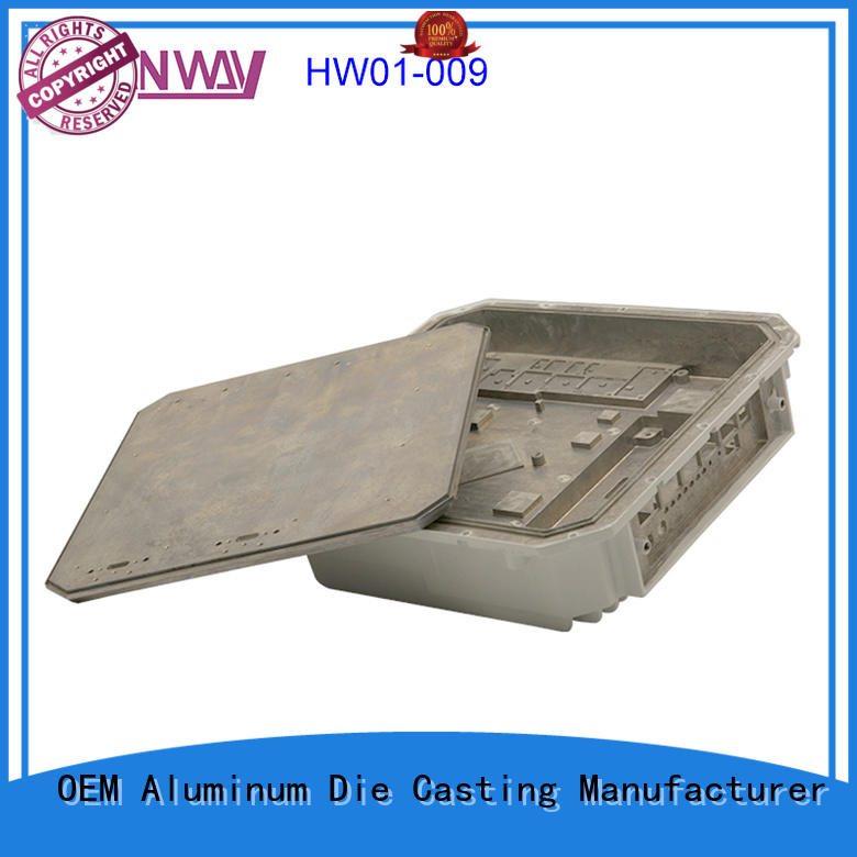 cnc wireless telecommunications parts hw01024 for manufacturer Hanway