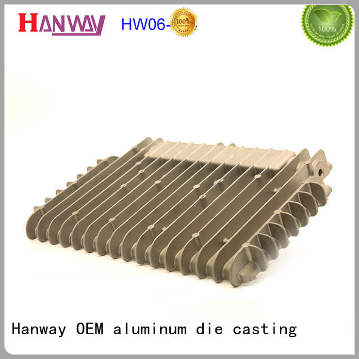 Hanway category die casting companies supplier for workshop