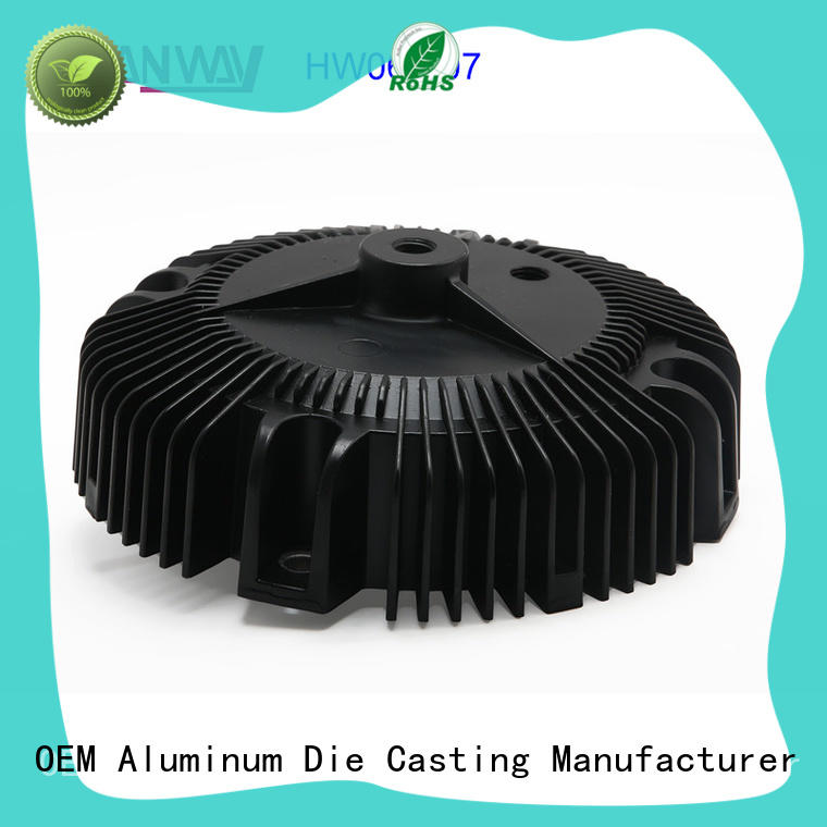 Cold forging parts extruded heatsink parts aluminum heat sink led HW06-007