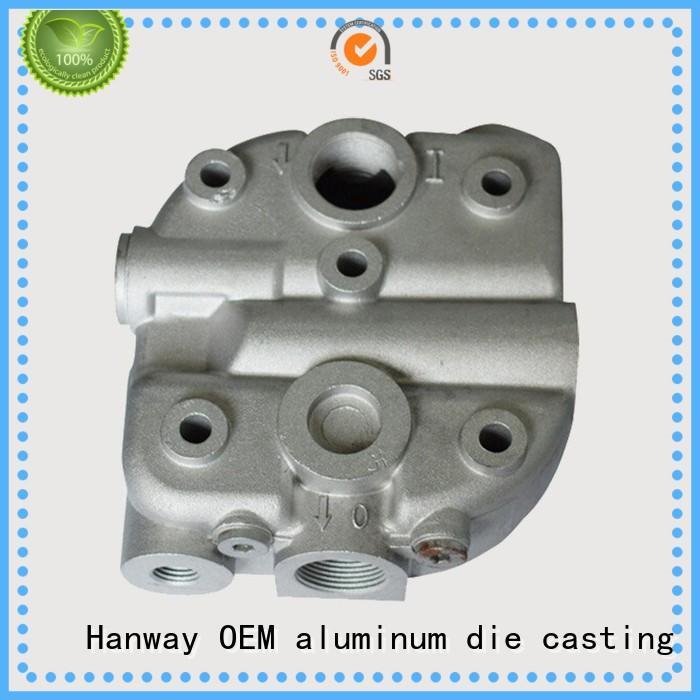 Hanway coating aluminium automobile parts auto for antenna system