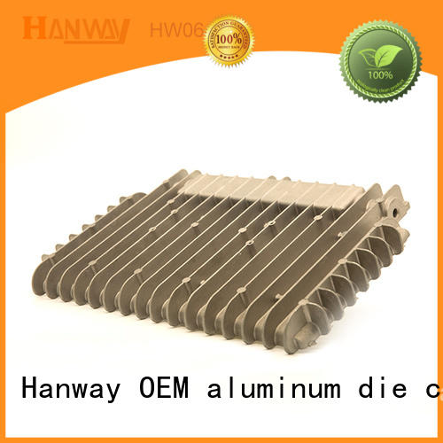 Hanway die casting led light heat sink factory price for industry