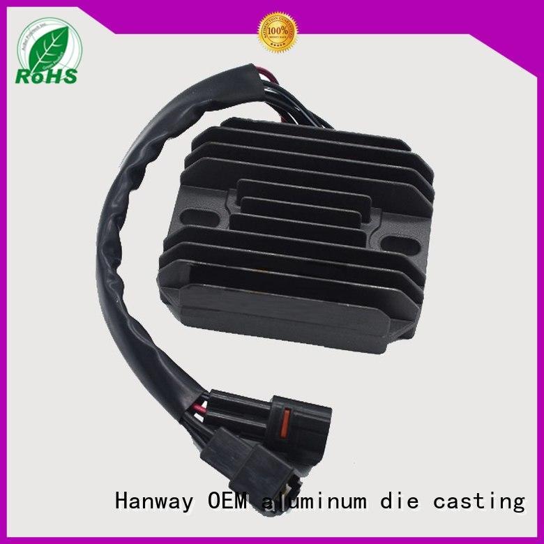 custom heatsink cnc cooler quality Hanway Brand company