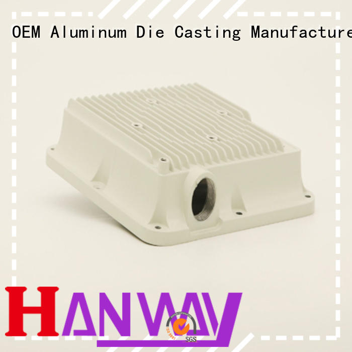 connector foundry aluminum die casting company Hanway Brand
