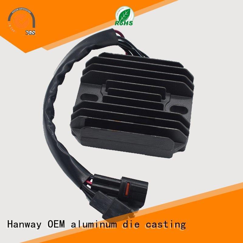 Hanway Brand cooler motorcycle heatsink die casting rectifier factory