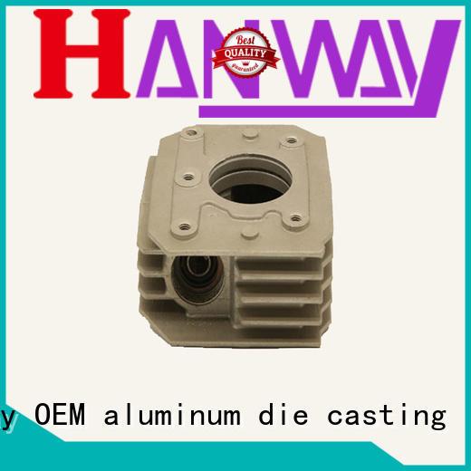 Hanway Brand precision heatsink cast aluminum furniture manufacturers manufacture