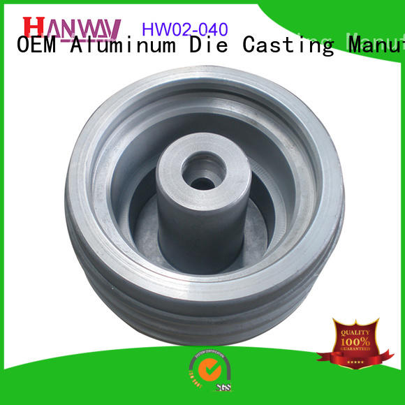 coating zinc alloy die casting parts polished for workshop Hanway